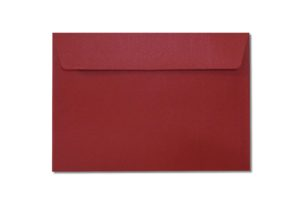 C6 red metallic envelopes