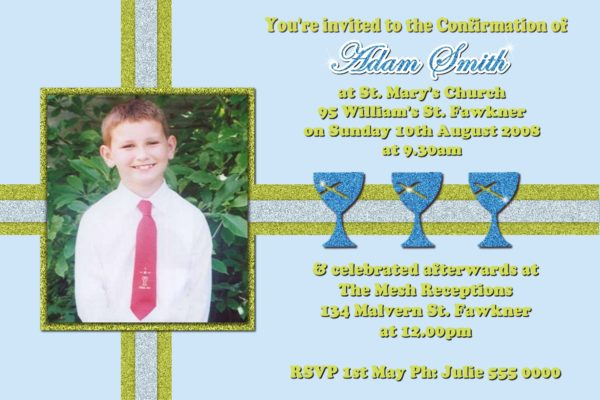 1st holy communion confirmation