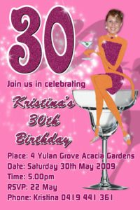 16th 18th 21st 30th 40th 50th 60th 70th 80th birthday invitations