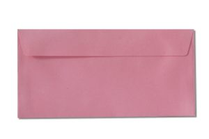 DL pink envelopes