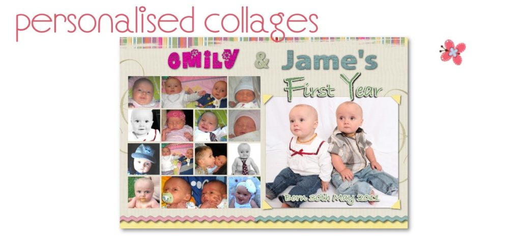 personalised collages