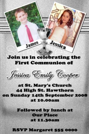Communion/Confirmation Invitation