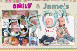 custom personalised collages