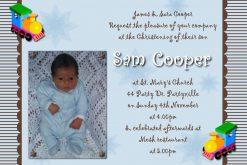 christening invitations
