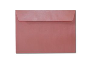 C6 pink metallic envelopes