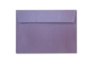 C6 purple metallic envelopes
