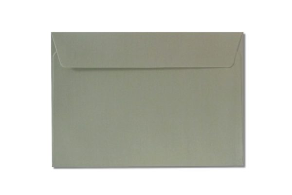 C6 silver metallic envelopes