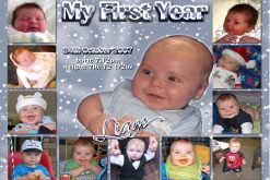 babys 1st year collage
