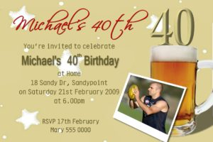 beer invitations