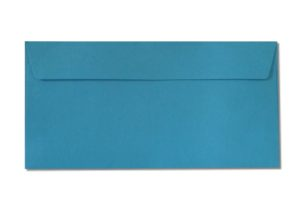 DL blue envelopes