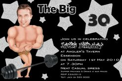 body builder invitations