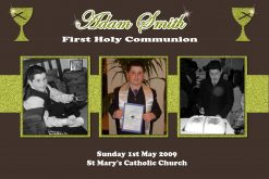 1st communion confirmation collage