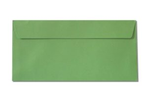 DL green envelopes