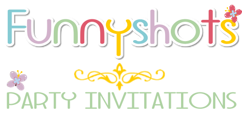 Funnyshots Party Invitations