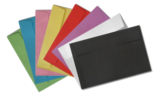 c6 coloured envelopes