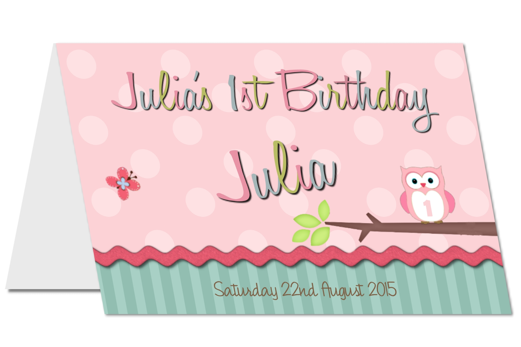 personalised A5 cards