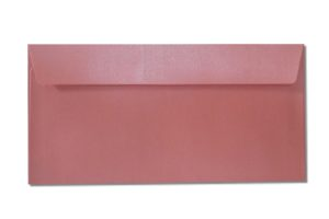 DL pink metallic envelopes