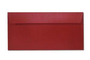 DL red metallic envelopes