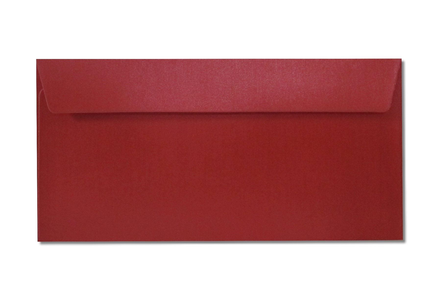DL red metallic envelopes