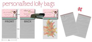 personalised lolly bags