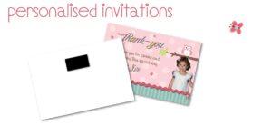 personalised invitations