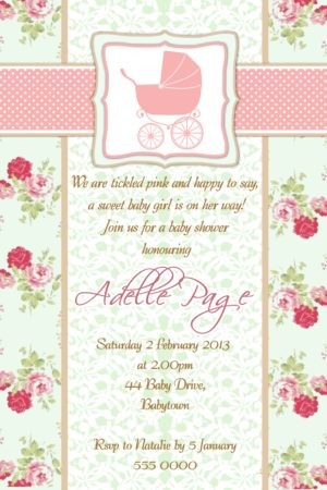 Baby Shower Invitations