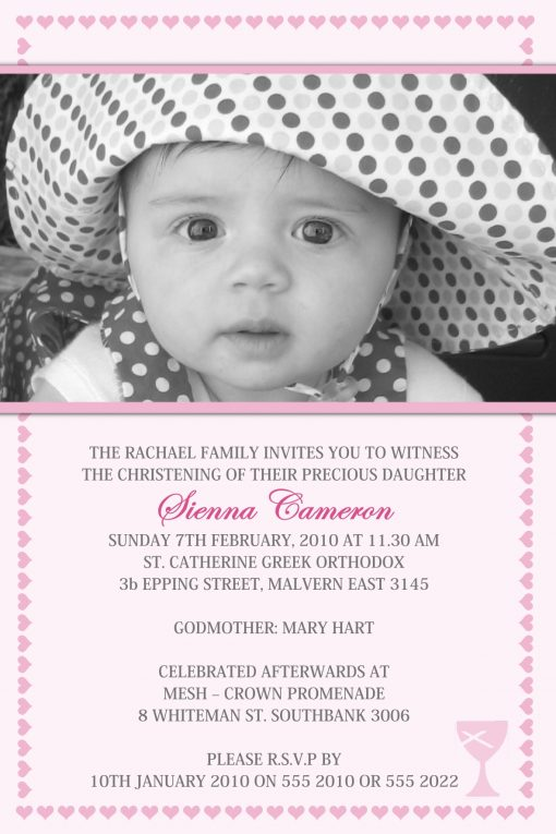 C50 (Christening Invitations)