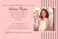 communion confirmatin invitations
