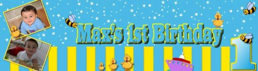 1st birthday banner