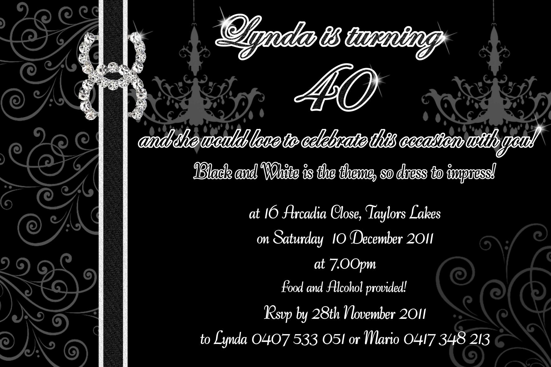 chanel invitations