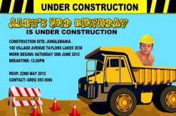 Construction Invitations