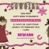 cowgirl invitations