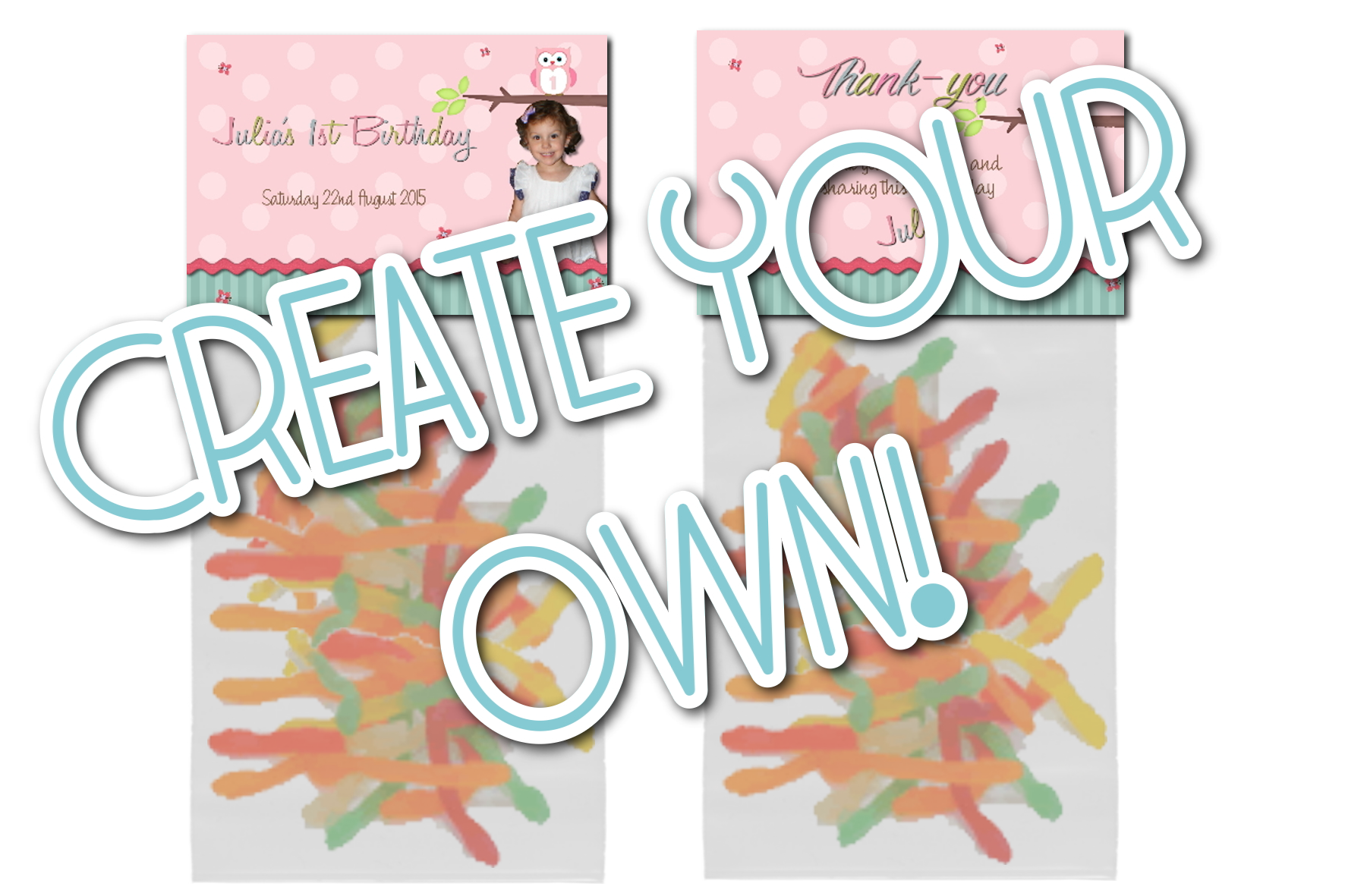 ced3a1f0653 2. Create Your Own! Lolly Bag Topper (Bag Included)