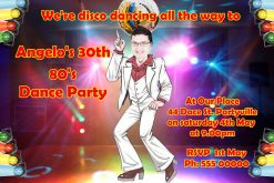 Disco Invitations 03