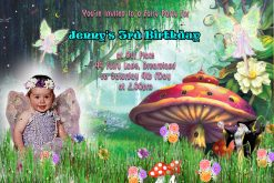 Fairy Invitations
