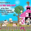 Farmyard Invitations