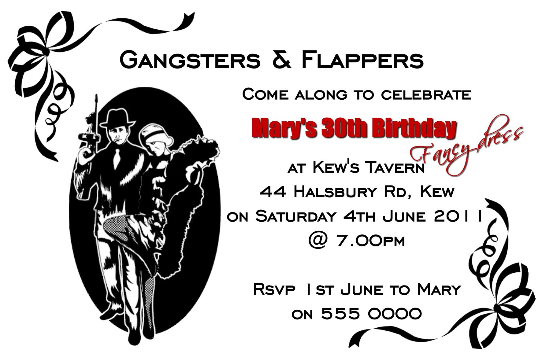 gangster invites