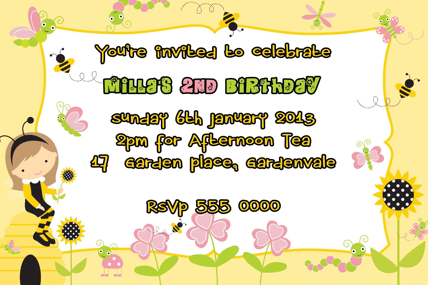 Garden Invitations