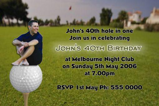 Golf Invitations