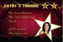 Movie Invitations