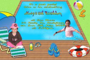 pool invitations