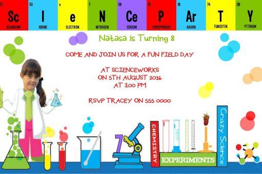 science invitations