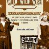 Wild West Invitations