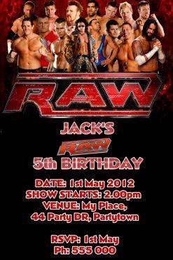 Wrestling Invitations