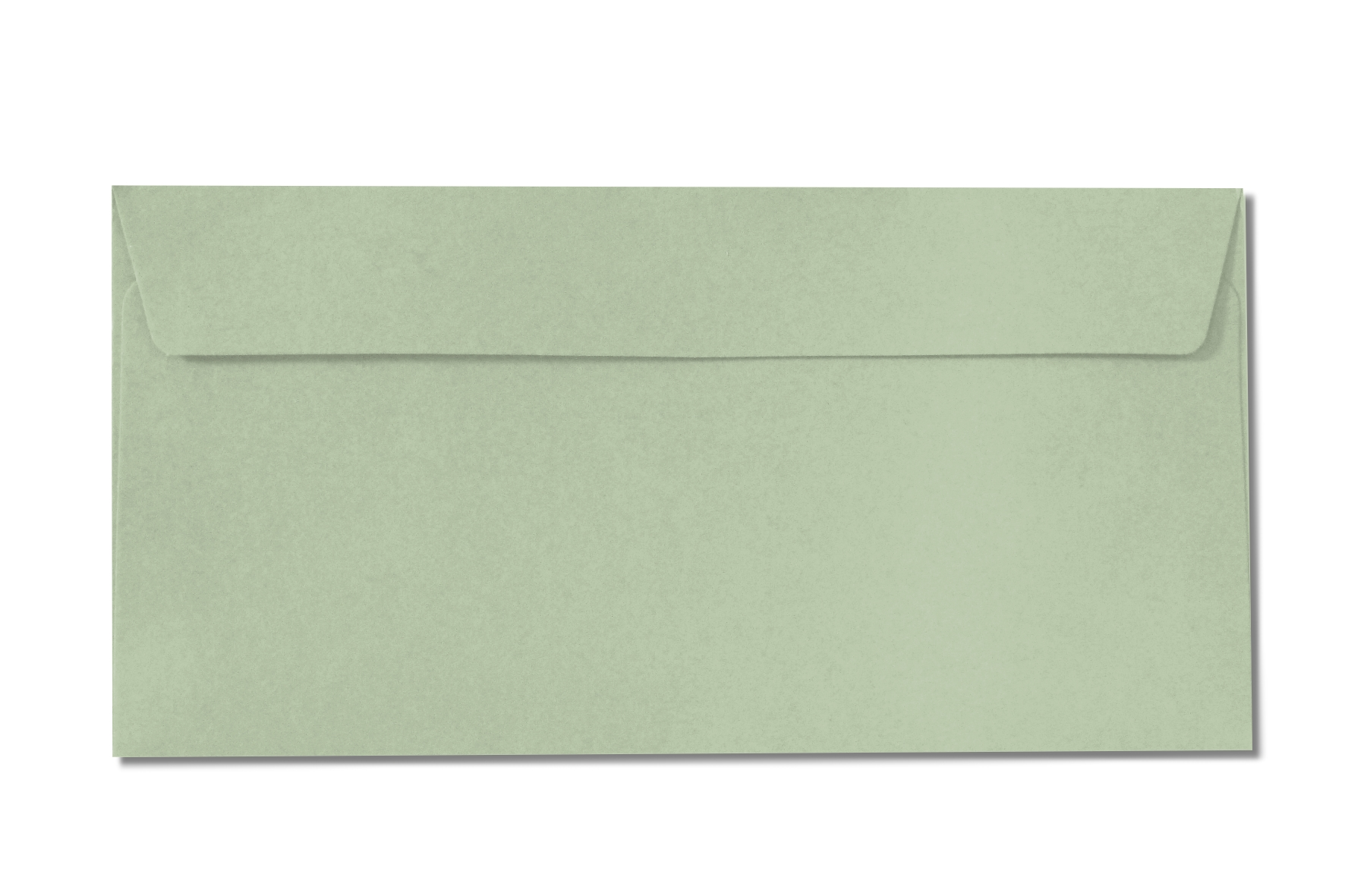 DL pale green envelopes
